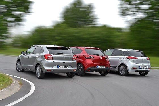 Hyundai-i20-Mazda2-Suzuki-Baleno-560x373-2305f5910ecb4a0d