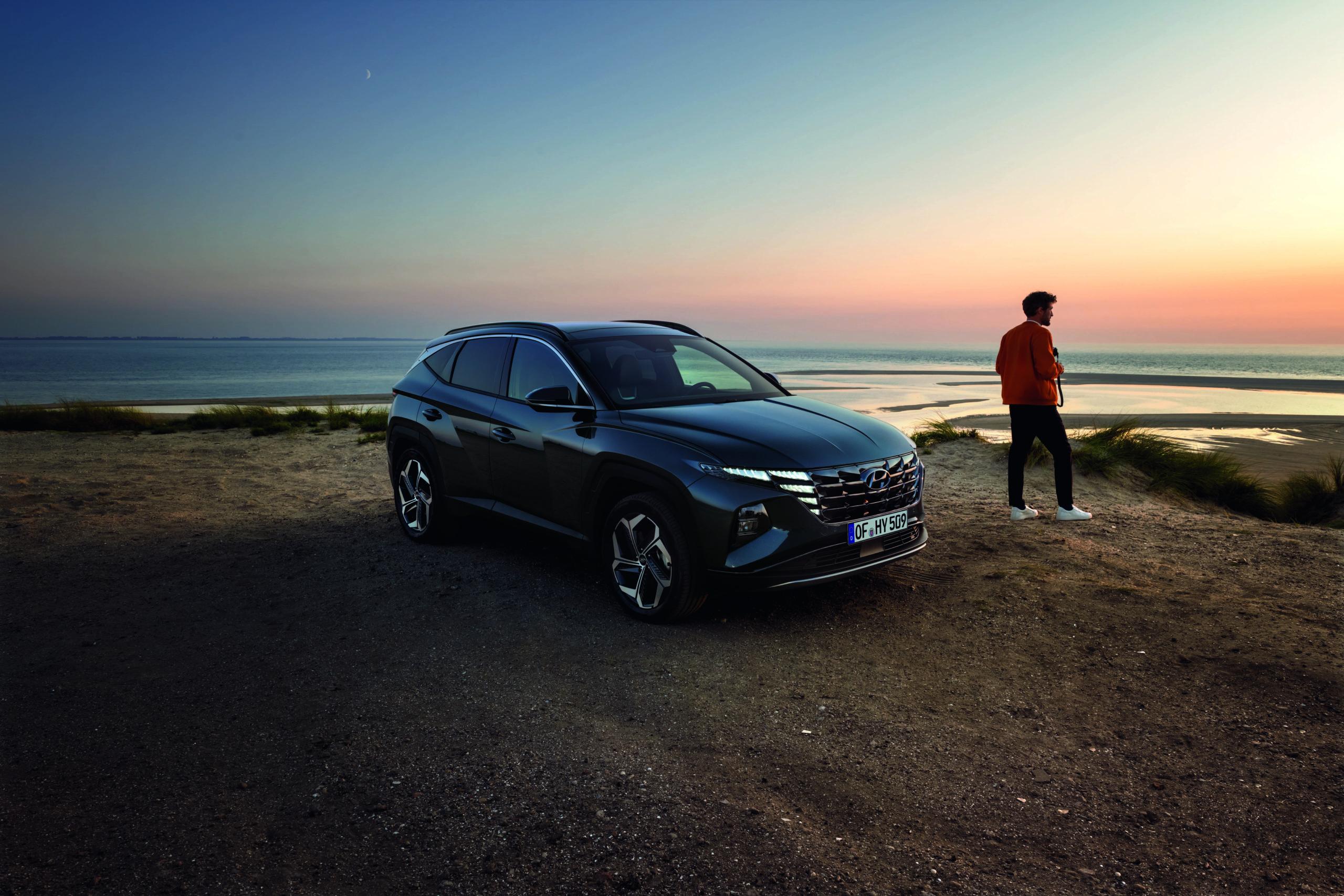 Hyundai Tucson dubbel verkleind